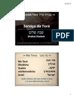Serviço Da Torá_har Tzion_abn