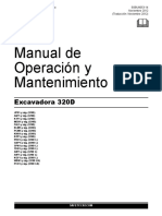 Manual Excavadora 320d