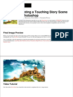 Creating a Touching Story Scene in Photoshop