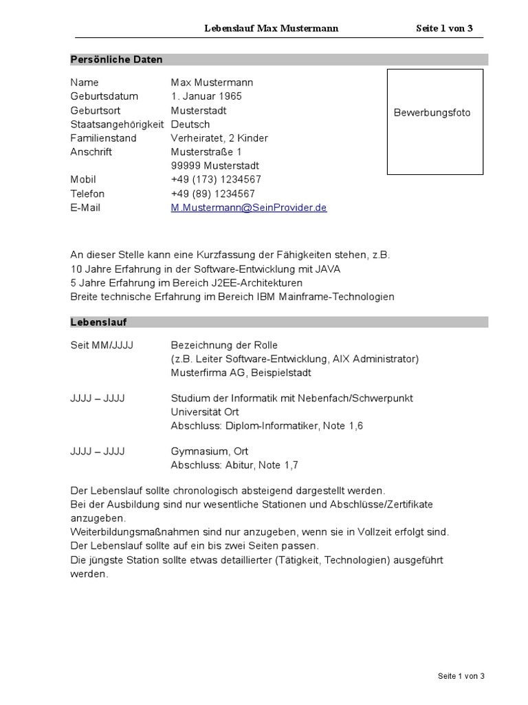 Groß Mobilkranführer Lebenslauf Ideen - Entry Level Resume Vorlagen ...