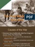 First World War Sp09