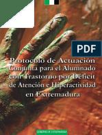 Protocolo de actuación conjunta para el alumnado con TDAH en Extremadura.pdf