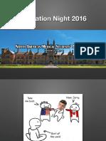 Education Night 2016