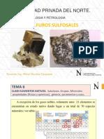 Elementos Nativos Sulfuros