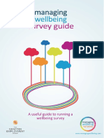 Managing Wellbeing Survey Guide