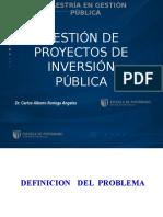 Ppt - Gestión de Proyectos de Inversión Pública -II