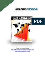 500 Backlinks Info Comercio Online Marketing Negocios