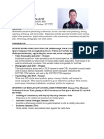 cole walker resume