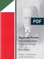 294792961 Das Unheimliche Manuscrito Ine Dito Bilingu e Sigmund Freud