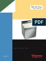 Sorvall Rc 3c Plus Operators Manual