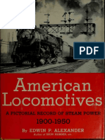 American Locomotives - A Pictorial Record of Steam Power 1900-1950