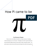 how pi came to be