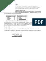 HP50G Manual de Soluções