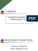 II Unidad Procesos Cognitivos 16