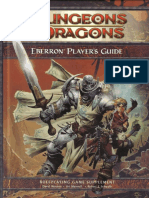 Eberron Player's Guide