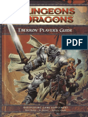 Eberron Players Guide World Of Eberron Wizards Of The