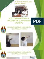 Trabajo del modulo N°6 del Currículo Nacional
