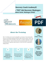70x7 Life Recovery Muskegon, C.C.A.R. Recovery Coach Training
