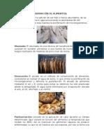 Métodos de Conservación de Alimentos Lincho Tracy