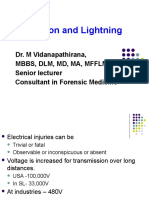 Lecture - Electrocution and Lightning USJ Final