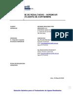 Informe Prueba Jarras Clarificacion Curtiembre - ASPEMCUR