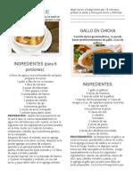 10 Recetas de Comidas Guatemaltecas