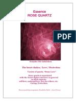 Essences Rose Quartz 2017