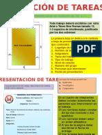Formato presentación de Tareas Utc