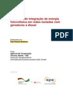 Potencial de Integração Fotovoltaica Em Redes de Geração Diesel. Pau Farrés Antúnez - LER DEPOIS - MUITO BOM
