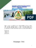 Plan Anual de Trabajo del IESPP MCC