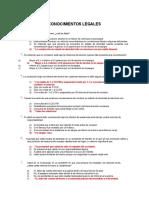 Cuestionario Conductores Profesionales 2003