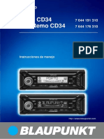 Manual Blaupunkt Porto CD34_ES
