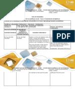 Guía de Actividades - Fase 2 - Formulación de Hipótesis