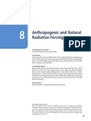 WG1AR5_Chapter08_FINAL pdf | Water Vapor | Atmosphere Of Earth