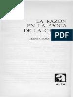 Gadamer Hans Georg - La Razon En La Epoca De La Ciencia.pdf