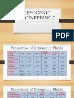 Properties of Cryogenic Fluids