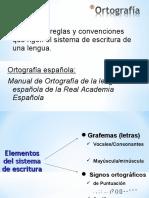 CLASE 1 - Ortografía (Acentuació n)