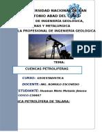 La Cuenca Petrolífera de Talara-lancones
