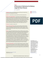 Maternal and Fetal Outcomes of Admission for Delivery in Women With Congenital Heart Disease