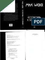 WEBER, Max - Economia e Sociedade, Fundamentos Da Sociologia Compreensiva, Vol 1, Cap. 5; Brasília, UNB, 2009