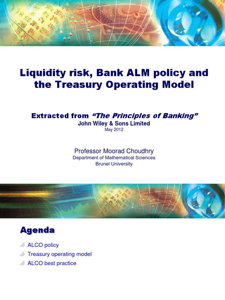 The Principles Of Banking Moorad Choudhry Pdf