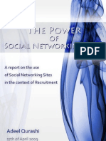 The Power of Social Networking Sites - A Thesis by Adeel Qurashi