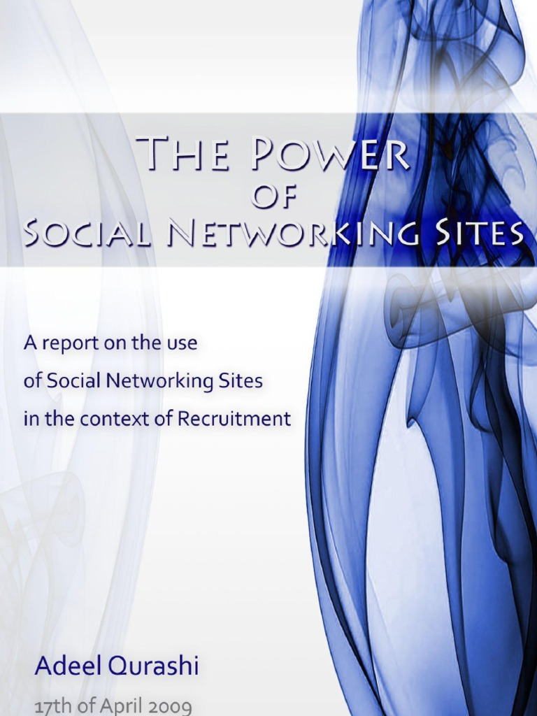 dissertation on social networking sites Unlv theses, dissertations, professional papers, and capstones 9-2010 the effects of social media networks in the hospitality industry wendy lim university of.