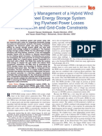 Robust Energy Management of a Hybrid Wind