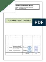BIX Dye Penetrant Procedure