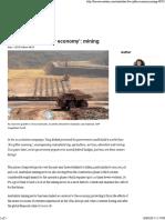 australias five pillar economy mining