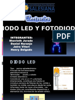 Diodo Led y Fotodiodo
