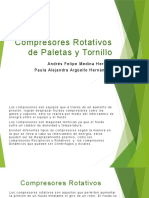 Compresores Rotativos de Paletas y Tornillo.pptx