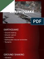 EARTHQUAKE Ground Shaking