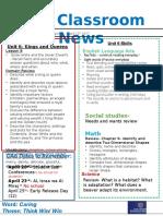 week 28- kg2 newsletter
